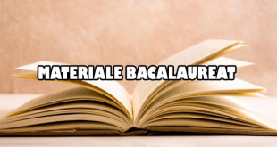 Materiale Bacalaureat