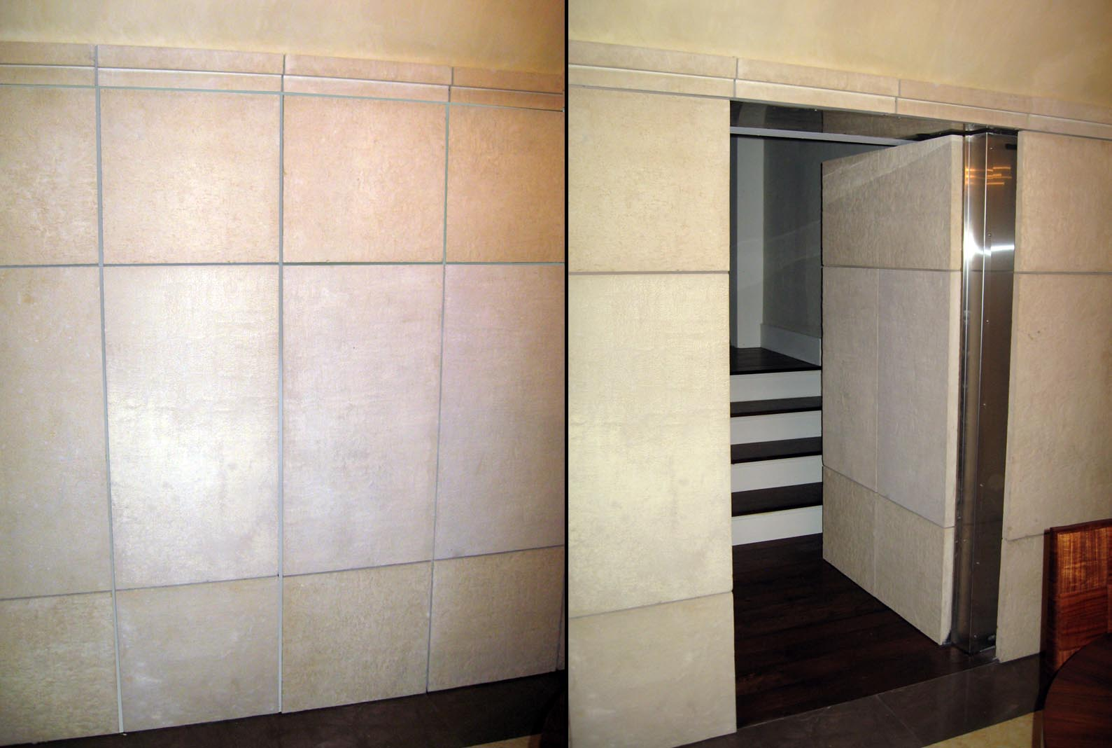 camera ascunsa dupa perete