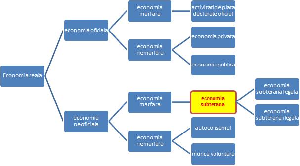 Ramurile economiei - economia subterana