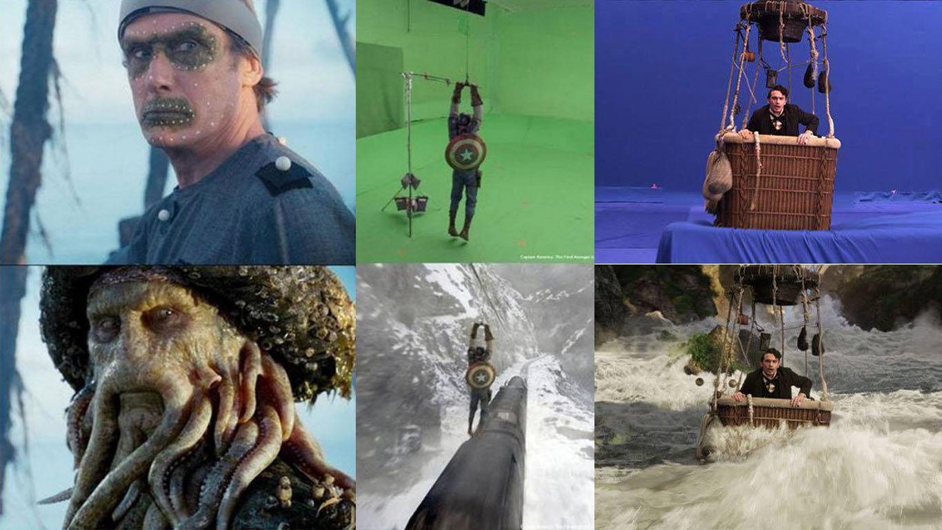 efecte speciale in filme inainte si dupa