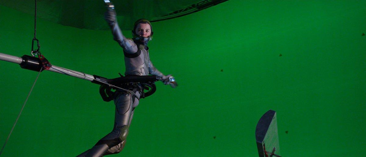 efecte speciale in filme green screen